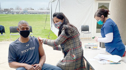 Pop Up Vaccine Clinic at Poly Prep
