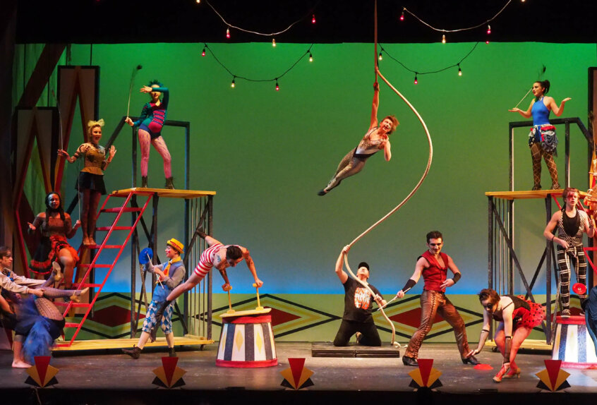 arts center theater pippin