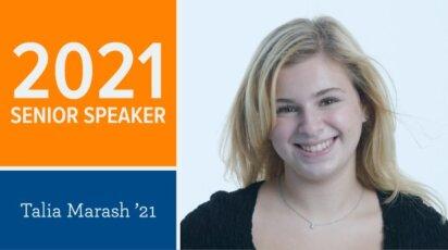 Talia Marash Senior Speaker 2021
