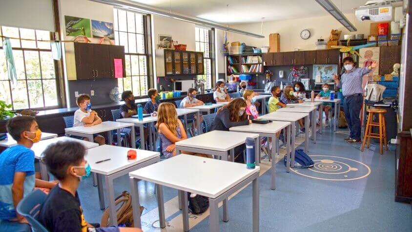 MS classroom