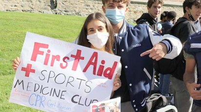 Clubs Fair 2021 First Aid Club