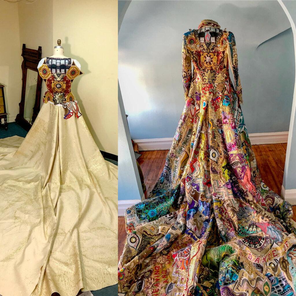 Michael Robinson Met Gala dress