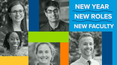 New roles, new faculty 2021-22