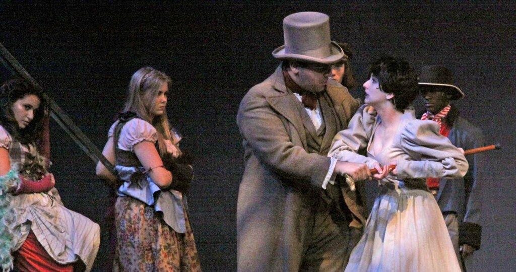 Briana Sky Riley '16 in Les Miserables