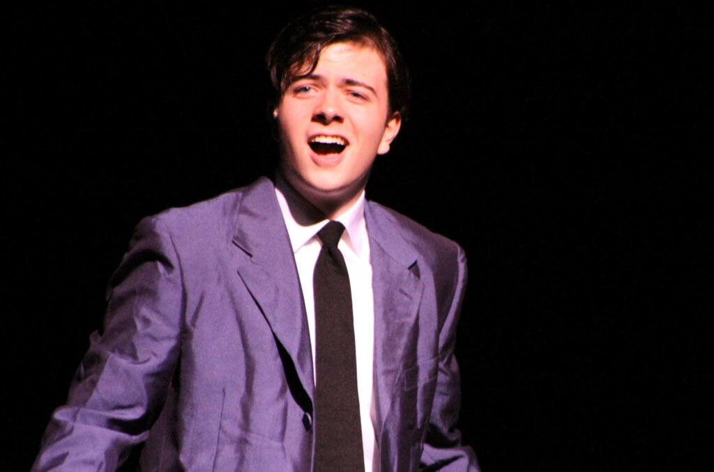 Harold Eric Theurer '13 in West Side Story